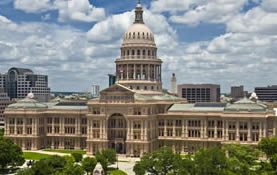 Capitol Bldg, image courtesy of TXDoT