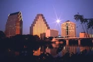 Austin Texas night view, top austin realtors, real estate agent austin tx
